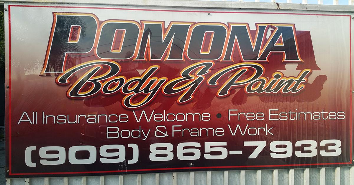 Pomona Auto Body And Paint Shop Collision Center Free