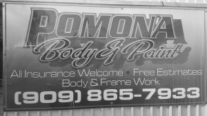 pomona body and paint free estimate