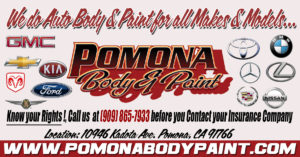 Pomona Body & Paint car makes we service